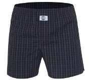 Deal Boxershort, check green, Medium (Groen, Rood, Zwart, M)