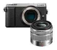 Panasonic Lumix DMC-GX80 zilver + 14-42mm HD II