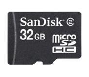 Sandisk MicroSDHC Card Only 32GB SDSDQ-032G-E11M