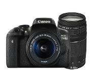 Canon EOS 750D + 18-55mm iS STM + 75-300mm III
