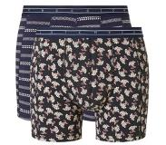 Scotch & soda 2-Pack MOTIF BOXERSHORT (Navy, Blauw, Small)