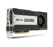 HP C2J96AA NVIDIA NVIDIA Quadro K6000 -näytönohjain, perustuu GK180-grafiikkasuorittimeen 12GB näytönohjain