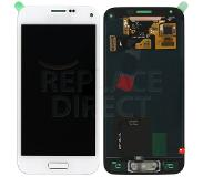 Samsung Mini LCD + Digitizer Assembly - Wit voor Samsung Galaxy S5 Mini G800