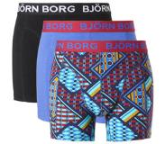 Björn Borg 3-PACK BOXERSHORTS LE LOUVRE-S (Blauw, S)