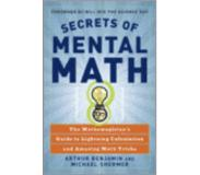 book 9780307338402 Secrets of Mental Math