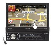 Caliber RMN575BT 300W Bluetooth Zwart autoradio