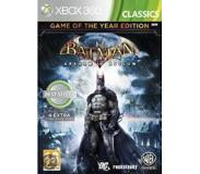 Actie Warner Bros - Batman: Arkham Asylum - Game of the Year Edition (Xbox 360)