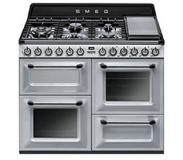 Smeg TR4110S1 Vrijstaand Gas hob A Roestvrijstaal fornuis