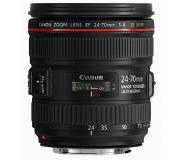 Canon EF 24-70mm f/4L IS USM SLR Standard zoom lens Musta