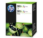 HP 301XL 2-pack Tri-color