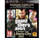 Ajopeli Take two - Grand theft auto iv (gta 4) - complete edition (playstation 3)