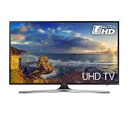 "Samsung 75"" 4K Ultra HD Smart TV Wi-Fi Zwart, Zilver LED TV"