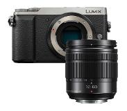 Panasonic Lumix DMC-GX80 zilver + 12-60mm ASPH Power OIS
