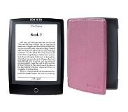 Bookeen CYBOY5F-BK-PNK 6'' Touchscreen 4GB Wi-Fi Zwart e-book reader