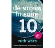 Book De vrouw in suite 10 (Ruth Ware)