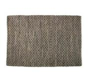 Bepurehome Twined vloerkleed jute/leer 240 x 170 cm - Naturel