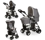 Hauck Shopper SLX Trio Set Kinderwagen - Stone/Grey
