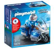 Playmobil City Action Politiemotor met LED-licht 6876