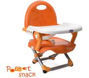 Chicco Zitverhoger Pocket Snack MANDARINO Collectie 2015 - Oranje
