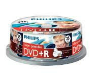 Philips DVD+R 16x 25pk Printable Spindle
