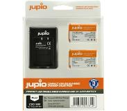 Jupio Kit: Battery NP-BX1 (2x) + USB Double-Sided Charger