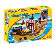 Playmobil PLAYMOBIL 1.2.3 Piratenschip 9118
