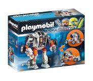Playmobil 20% korting: Playmobil Top Agents 9251 Agent T.E.C.'s Robowagen