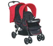 Safety 1st Duowagen Duodeal Plain Red - Rood