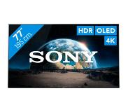"Sony KD-77A1 LED TV 195,6 cm (77"") 4K Ultra HD Smart TV Wi-Fi Zwart"