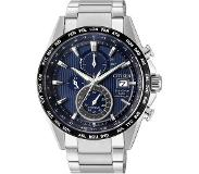 Citizen Horloges Ecodrive Citizen Radio Controlled AT8154-82L horloge Eco-Drive Titanium Blauw