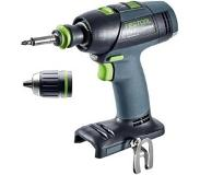 Festool T 18+3 Li-Basic Boormachine met pistoolgreep Lithium-Ion (Li-Ion) 5.2Ah 1900g Multi kleuren