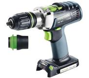 Festool PDC 18/4 Li-Basic Boormachine met pistoolgreep Lithium-Ion (Li-Ion) 5.2Ah 2000g Multi kleuren