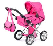 Bayer poppenwagen City Star roze 72 cm
