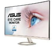 "Asus VZ27VQ 27IN WLED 1920X1080 LED display 68,6 cm (27"") Full HD Gebogen Zwart, Goud"