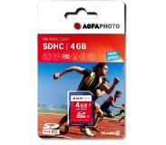 Agfaphoto SDHC kaart 4GB High Speed UHS I