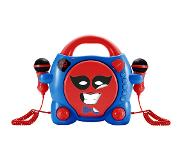 BigBen Interactive My Billy Portable CD player Blauw, Rood