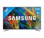 "Samsung Q6F QE55Q6FAMLXXN LED TV 139,7 cm (55"") 4K Ultra HD Smart TV Wi-Fi Zilver"
