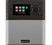 Sonoro Internet Radio Bluetooth Stream Oak Silver