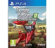 Focus Farming Simulator 17 - Platinum Edition - PS4