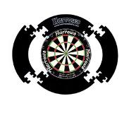 Harrows Dartboard Surround (Kleur: zwart)