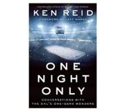 book One Night Only: Conversations with the NHL's One-Game Wonders