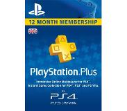 Sony PSN Plus Card 12 month Subscription FI