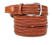 Suitable Geweven Riem Cognac
