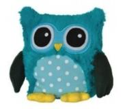 Warmies Magnetronknuffel Uil Turquoise 22cm