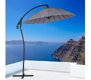 Beliani Calabria - Parasol polyester antraciet