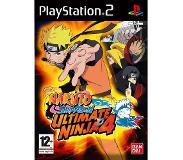 Toiminta: Namco Bandai Games - Naruto Shippuden: Ultimate Ninja 4, PS2