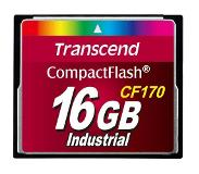 Transcend CF170 16GB CompactFlash MLC flashgeheugen