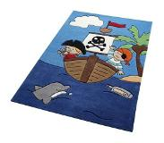 Smart Kids Kindervloerkleed, »Pirate kids«, handgetuft
