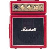 Marshall MS-2R combo guitare miniature à piles (rouge)
