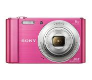 "Sony Cyber-shot DSC-W810 Compact camera 20.1MP 1/2.3"" CCD 5152 x 3864pixels Pink"